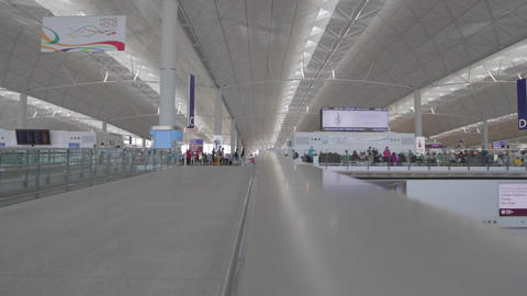 Passenger Pespective - Airport Express stock footage