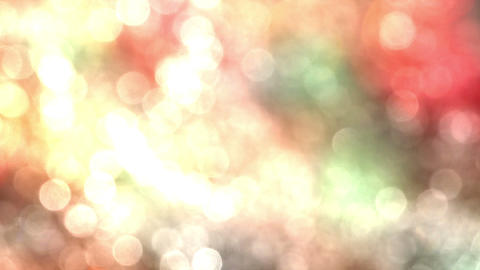 Bokeh Particles On A Colorful Background S HD stock footage