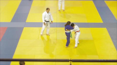 Judo kids Fighting Live Action