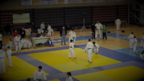 Judo Indoor Footage