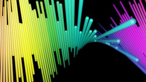 Twisted Shaft Rainbow stock footage
