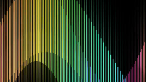 vertical line wave Animation