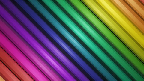 colorful slant bar Animation