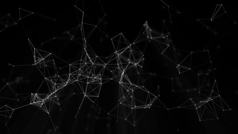 Glitch Connections Element Loop 3 stock footage