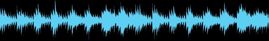 Inspirotional Solo Piano (loop Version) stock footage