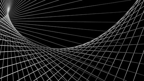 white net space Animation