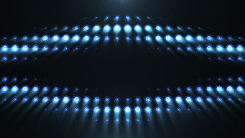 Blue Lights Pattern stock footage