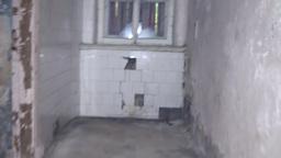 thrown house, corridor, the room of the last centu Footage