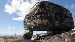 historical religious Norwegian zen stone siedi Footage