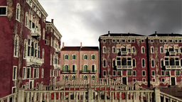 Venice Buildings Clouds Timelapse 04 Animation