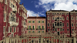 Venice Buildings Clouds Timelapse 02 Animation
