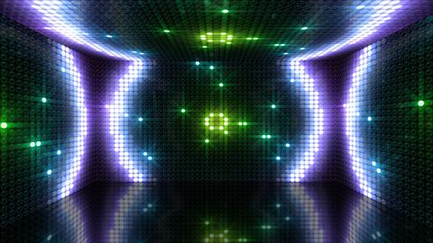 LED Back 2 RAfC1 HD Stock Video Footage