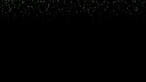 falling snowflakes and particles at night Stock Video Footage