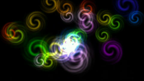 color rotation fancy pattern,seamless loop,HD... Stock Video Footage
