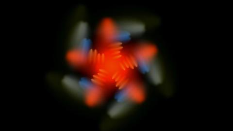spin flower pattern,oriental... Stock Video Footage