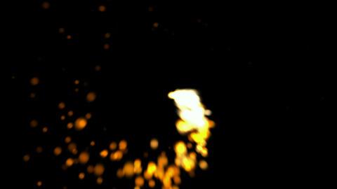 Rotation fireworks,seamless loop,Firecracker,gas,l Stock Video Footage