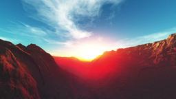 Morning sun Mountain Stock Video Footage