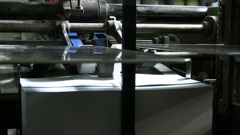 Printing factory Stock Video Footage