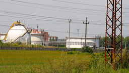 Chemical Factory 03 Stock Video Footage