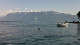 Lake Geneva Lac Leman 01 Footage
