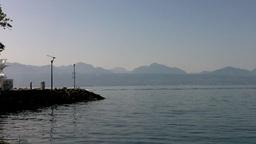 Lake Geneva Lac Leman 03 Stock Video Footage