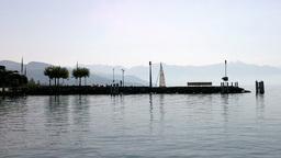 Lake Geneva Lac Leman 05 Stock Video Footage