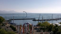 Lake Geneva Lac Leman 07 Lausanne Footage