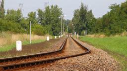 Railway 02 summer Stock Video Footage