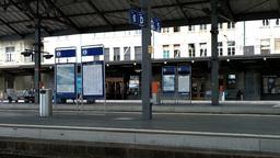 Railway Station Switzerland 04 Stock Video Footage