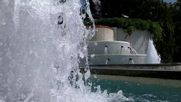 Refreshing Fountain Stock Video Footage