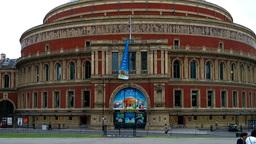 Royal Albert Hall London Stock Video Footage