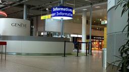 Switzerland Geneva Airport Terminal 02 Footage