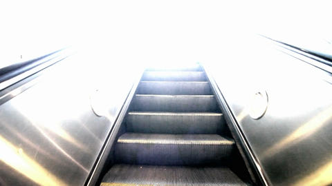 Escalator Up Stock Video Footage