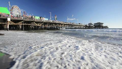 Santa Monica Pier Live Action