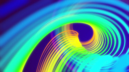 Multicolored rotating motion loop background Animation