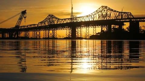 Bay Bridge Stock Video Footage