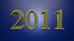New Year 2012 Stock Video Footage