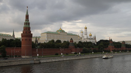 moscow kremlin timlapse Stock Video Footage
