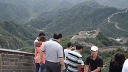 Great Wall in China 04 neutral high dynamic color Footage