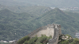 Great Wall in China 10 neutral high dynamic color Stock Video Footage