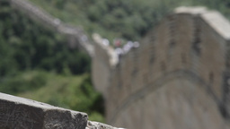 Great Wall in China 14 neutral high dynamic color DOLLY Stock Video Footage