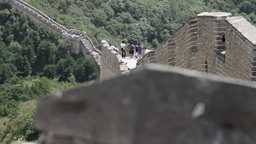 Great Wall in China 16 neutral high dynamic color DOLLY Footage