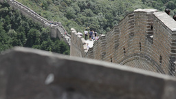 Great Wall in China 16 neutral high dynamic color DOLLY Stock Video Footage