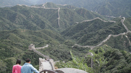 Great Wall in China 26 neutral high dynamic color DOLLY Stock Video Footage