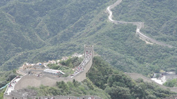 Great Wall in China 30 neutral high dynamic color Footage