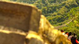 Great Wall in China 47 stylized artsoft diffusion DOLLY Footage