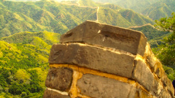 Great Wall in China 49 stylized artsoft diffusion DOLLY Footage
