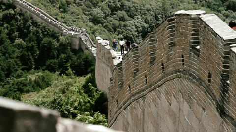 Great Wall in China 72 stylized filmlook DOLLY Footage
