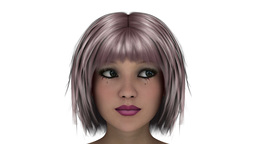 Girl Face Animation