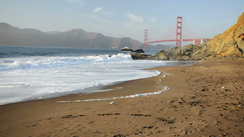 Golden Gate Bridge Stock Video Footage